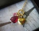 RESERVED Mon Valentin - My Valentine