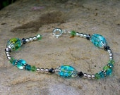 Raging Sea beaded bracelet