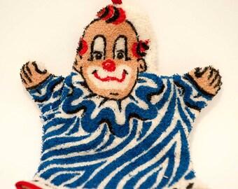 RARE HOWDY DOODY Clarabelle Bath Mitt Unique