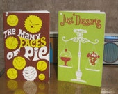 The Many Faces of Pie and Just Desserts Cookbooks from Wisconsin