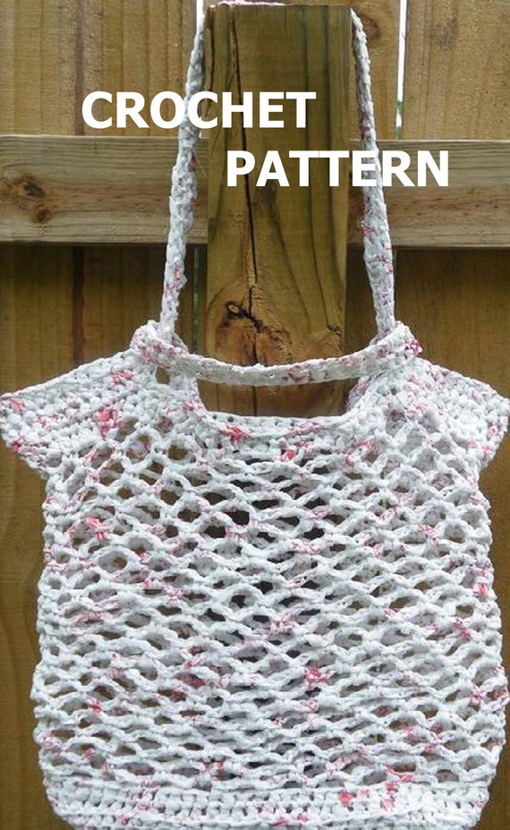 PDF Crochet Pattern Medium Eco-Friendly Grab by twooleydesigns