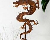 Asian Chinese Dragon Garden Stake