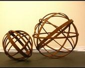"""14"""" Garden Art Metal Sphere Sculpture"""