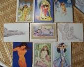 Fantasy Art Cards by Steve Woron 1993
