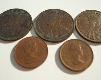 Canadian Pennies B