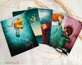 Illustrated postcards - You pick 5