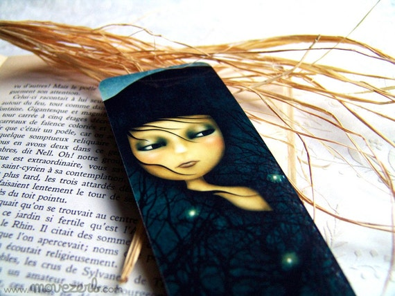 My delusions - Laminated bookmark