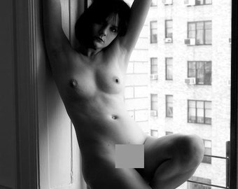 Window Light Nude, 11x14 Photograph