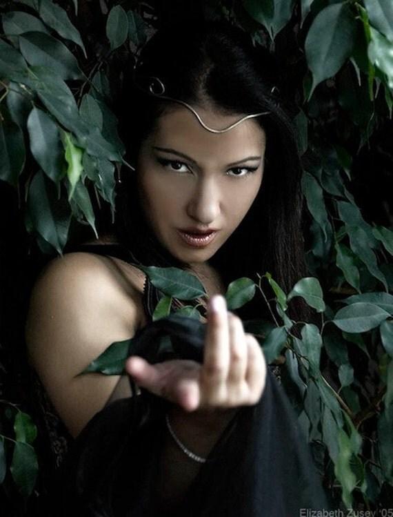 Temptress Goddess Sorceress Color Photo
