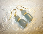 Blue Ice Earrings