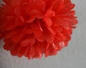 Mandarin red - one pom
