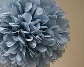Silver blue - one pom