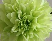 Leaf .. Tissue Pom Pom / Wedding Decor