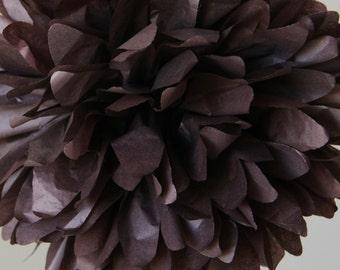 Brown - one pom