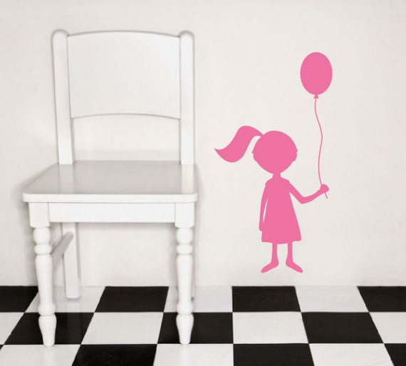 Wall decal silhouette