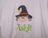 custom Witch Halloween Personalized Shirt MONOGRAMMED