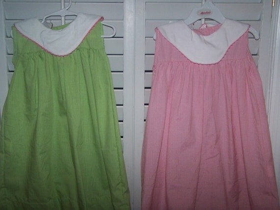 CYBER MONDAY Clearance Boutique Dress with Collar Lime sz 5 Last One