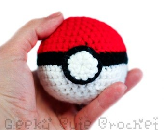 Monster ball Amigurumi Plush Capture Gamer Gear