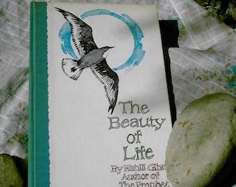 The Beauty of Life by Kahlil Gibran Hallmark edition hard back