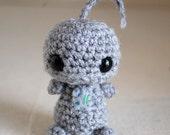 Mini Amigurumi Robot - Number 7