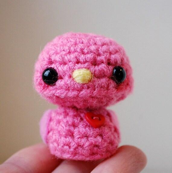 Items similar to Pink and Yellow Cartoon Bird Printable ...  |Pink Baby Birds