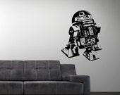 Vinyl Wall Decal Star Wars Robot R2D2