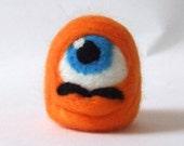 Stupid Useless Lump Javier The Moustachioed Orange Lump Felt Monster