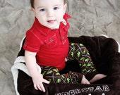 Brown Skulls Pirate Peace Baby Toddler Leg Warmers Sale