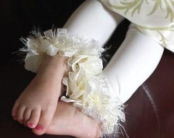 Ivory Toddler Girls Stockings/ Tights