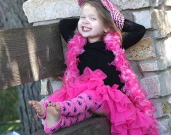 Pink Black Skulls Peace Signs Baby Toddler Leg Warmers Sale