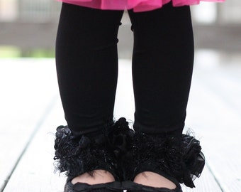 Girls Black Stockings Tights