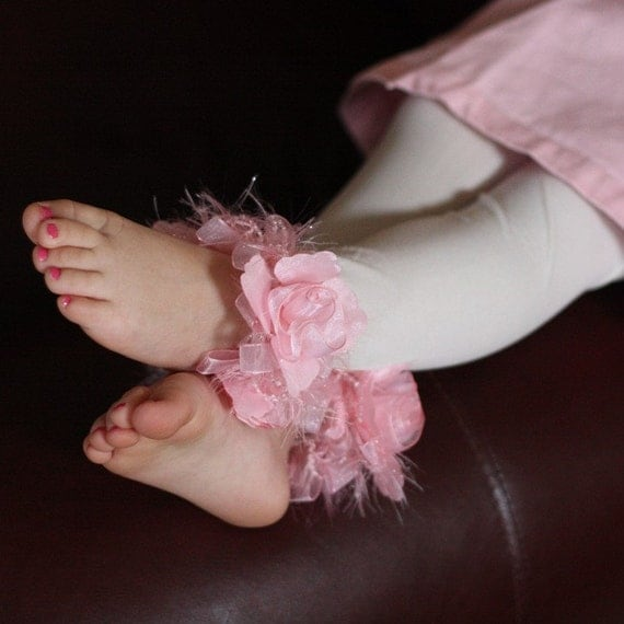 Pink and White toddler Girls Stockings/Tights
