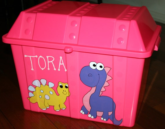 Personalized Kid's Large Treasure Chest, Easter Basket, Toy Storage, Baby Shower Gift, Gift Basket, Trains, Sports, Dinosaurs