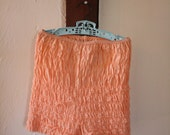 VINTAGE lace peach bloomers