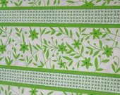 Vintage Green and White Floral Ambassador Gift Wrap