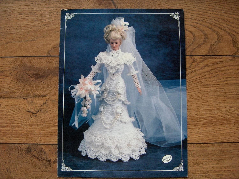 Crochet Pattern Wedding Doll : Item Details