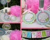 Girly Spa Birthday Party Decorations Fully Assembled