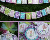 Sweets and Treats Birthday Party Decorations Fully Assembled