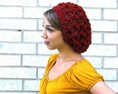 Sailor's Net Summer Slouch - Rusted Red