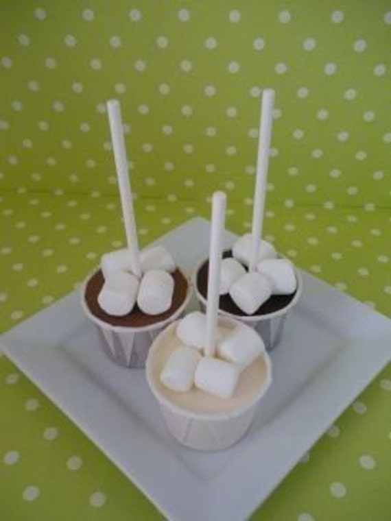 8 Hot Chocolate on a Stick