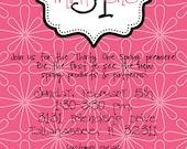 il_170x135.311037536 items similar to customized invitations designed for thirty one,Thirty One Invitations