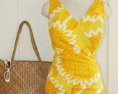 You're Just Full of Sunshine - Circa 60's Sunbeam Yellow Suit - Perfection Fit by Roxanne