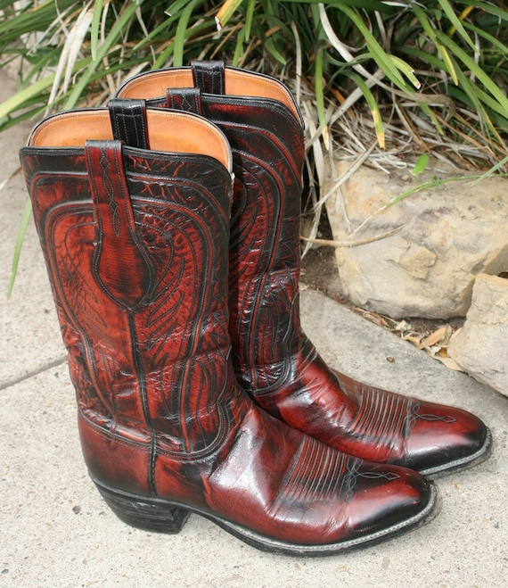 SAN  AN-TONIO, Love a Lucchese Boot - Western - Cowboy - Rockabilly