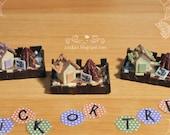 Dollhouse Miniature Halloween House