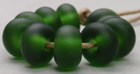 10 Spacer Beads - Handmade Lampwork - SE 7