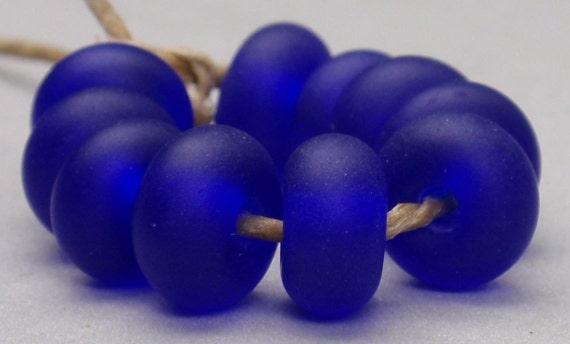 10 Spacer Beads - Handmade Lampwork - SE 29