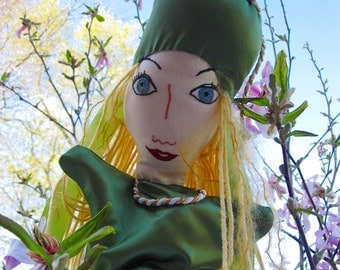 Hand Puppet- Glinda the Good Witch From Wizard of Oz - Custom