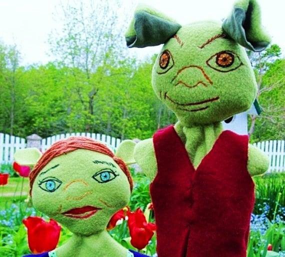 Items Similar To Shrek And Fiona