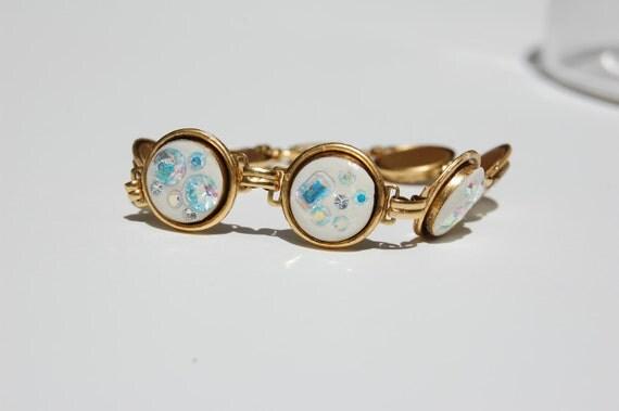 Diamond in the Rough Link Bracelet
