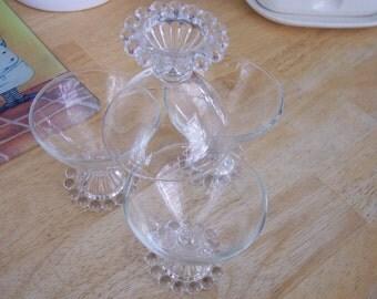 Anchor Hocking Boopie Dessert Glasses